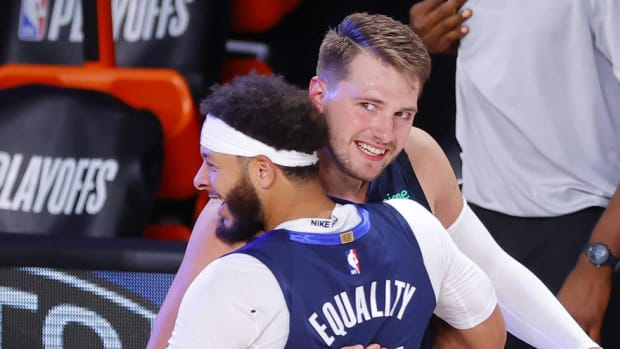 Seth Curry On Luka Doncic's Game Winner: 'That's A Bad White Boy'