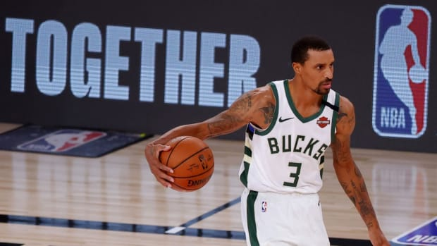 """George Hill On Overcoming 3-0 Deficit: """"It's Been Done Before Just Not In This Sport"""""""