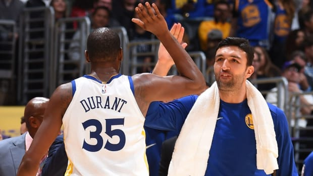 Zaza Pachulia Hilariously Trolls Kevin Durant Because Of Defense