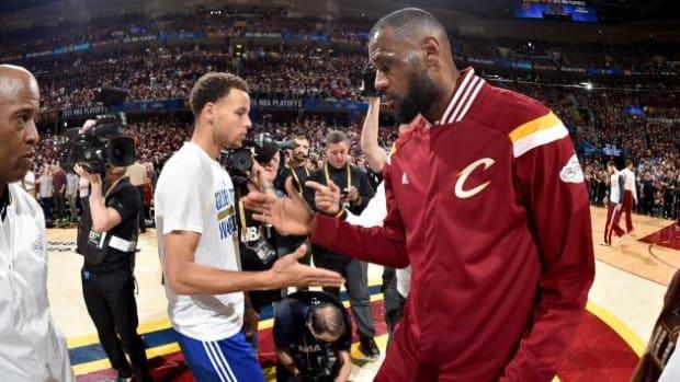 Warriors vs. Cavaliers NBA Finals 2016