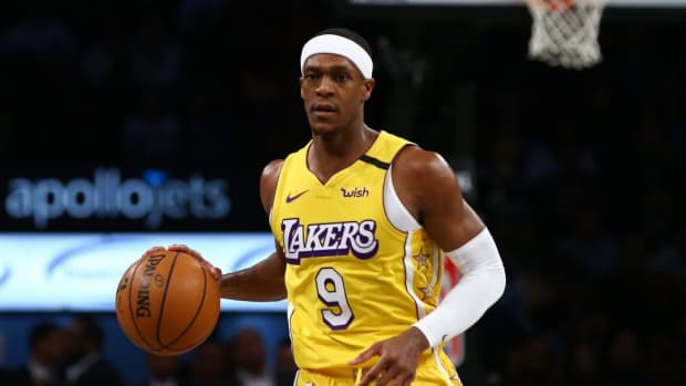 """Rajon Rondo Jokes About Los Angeles Lakers' Veteran Roster: """"Now I'm Considered One Of The Young Guys"""""""