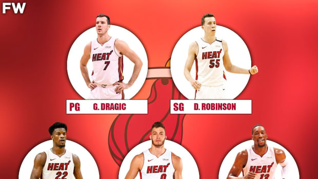 The 2020-21 Projected Starting Lineup For The Miami Heat