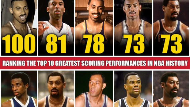 Ranking The Top 10 Greatest Scoring Performances In NBA History: Wilt Chamberlain And Kobe Bryant Hold The Most Astonishing Records
