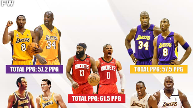 Ranking The Top 10 Highest Scoring Duos In NBA History