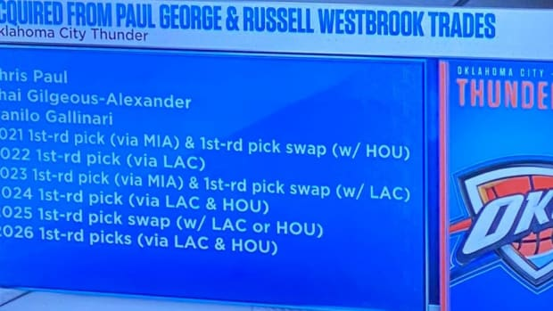 Oklahoma City Thunder Acquired A Lot Of Talents From Paul George And Russell Westbrook Trades