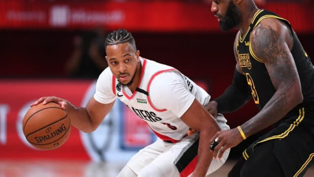"""CJ McCollum On LeBron James: 'People Thought He Was Going To Become A Karl Malone, But He's Shooting More 3s"""""""