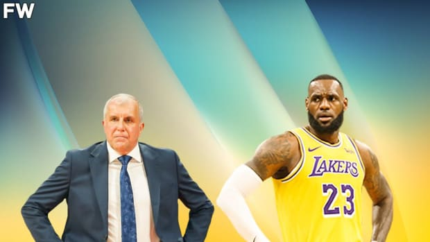 Derrick Williams Says Zeljko Obradovic And LeBron James Are The Only Two People Who Know Everything About The Game