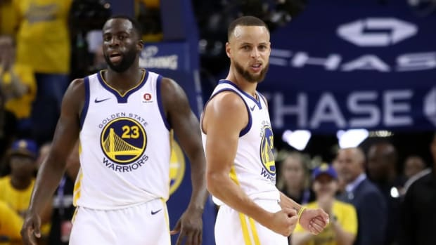 Draymond Green and Stephen Curry