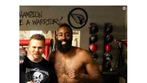 James Harden Looks Absolutely Out Of Shape For Training Camp