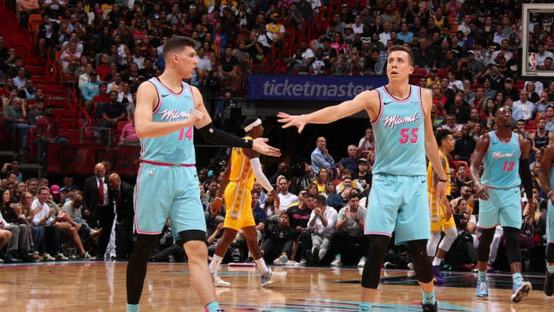 Tyler Herro Thinks Teams Target Him And Duncan Robinson On Defense Because They're White