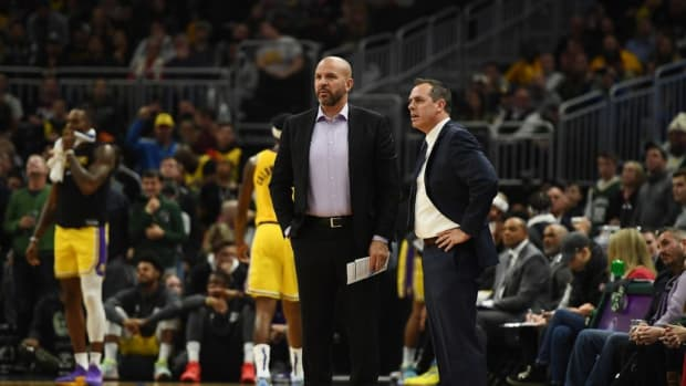 Jason Kidd Spilled His Drink To Get A Time-Out During The Last Moments Of A Game