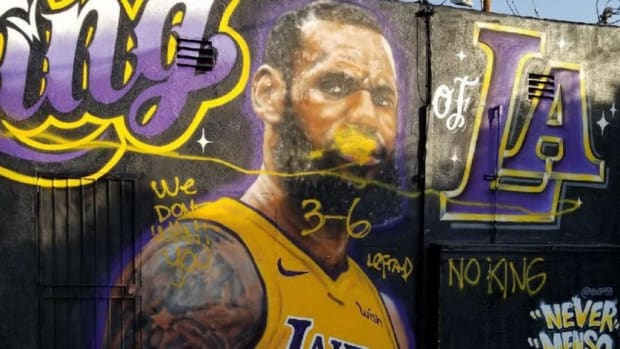 Shannon Sharpe, Snoop Dogg Hilariously Accuse Skip Bayless Of Messing LeBron James' Murals In LA