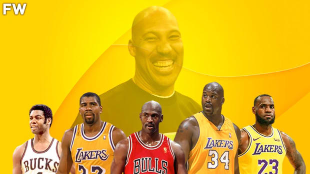 LaVar Ball Selects The Most Powerful Starting Five Ever