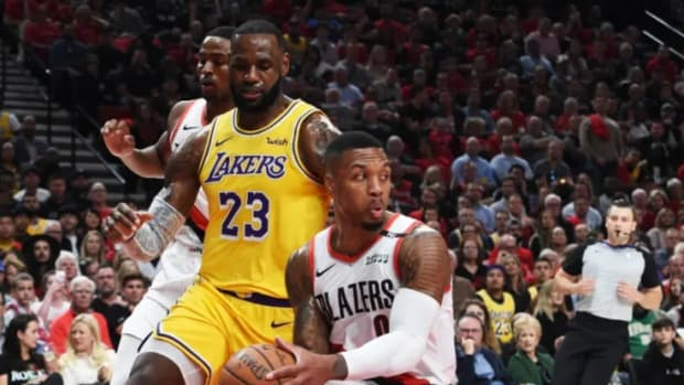 Kyle Kuzma Claims The Lakers Aren't Worried About Blazers