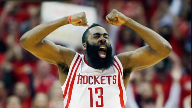 James Harden Angry