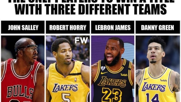 The Only Players To Win A Title With Three Different NBA Teams