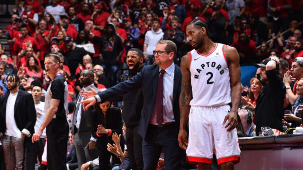 Kawhi Leonard Told Coach Nick Nurse His Free Agency Decision With A Three-Word Text Message