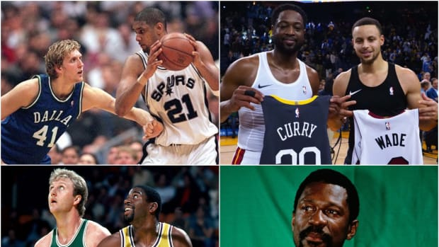 NBA Fans Debate About The Most Unselfish Players In History: Tim Duncan, Stephen Curry, Dwyane Wade, Magic Johnson
