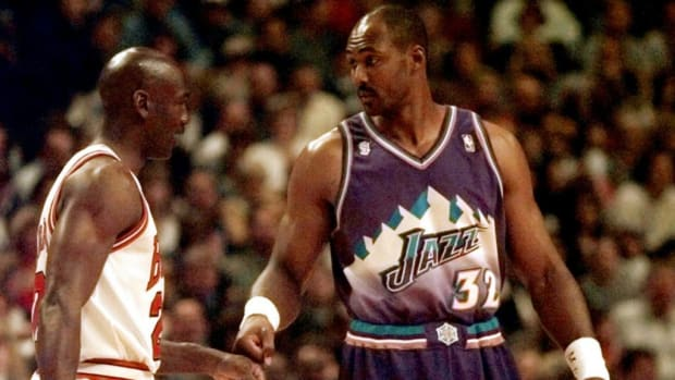 Michael Jordan Karl Malone
