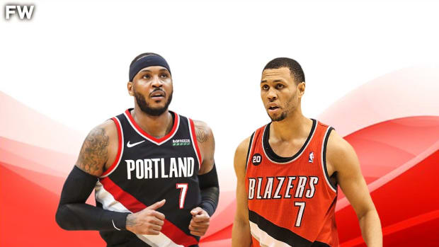 """Carmelo Anthony Wants To Wear #7 For The Portland Trail Blazers: """"If Portland Gives Me Number 7, I'll Be Happy. I'll Be Thrilled. We Need A Petition For That. I Need Number 7."""""""
