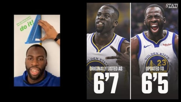 Draymond Green Shows His Real Height Measurement, Proves Doubters Wrong