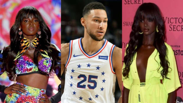 Ben Simmons Denies Claims That He Is Dating Supermodel Duckie Thot