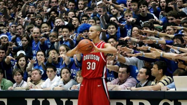 Stephen Curry NCAA