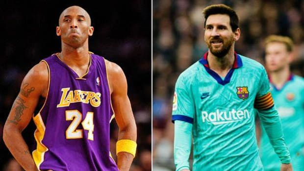 Video: Remembering When Ronaldinho Introduced A 17-Year-Old Lionel Messi To Kobe Bryant