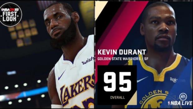 NBA Live 2019 vs NBA 2k19