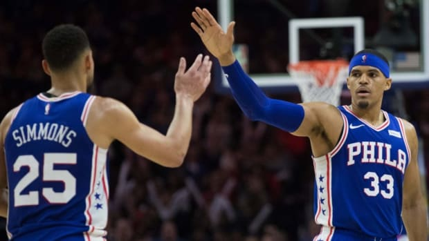 Tobias Harris Claims Ben Simmons Can Shoot 3-Pointers Now