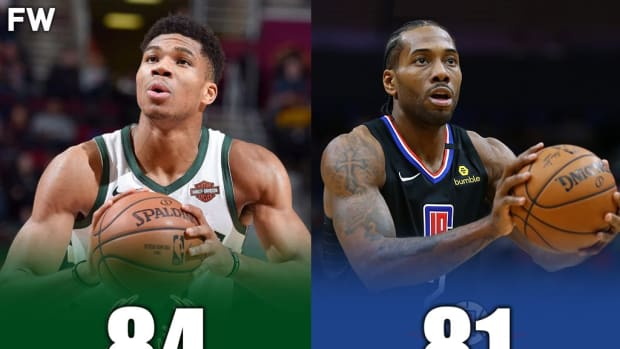 Giannis Antetokounmpo Has A Better Mid-Range Shot Than Kawhi Leonard In NBA 2K21