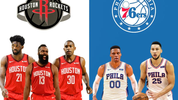 NBA Trade Rumors: Houston Rockets Can Land Joel Embiid And Al Horford In Package Centered Around Russell Westbrook