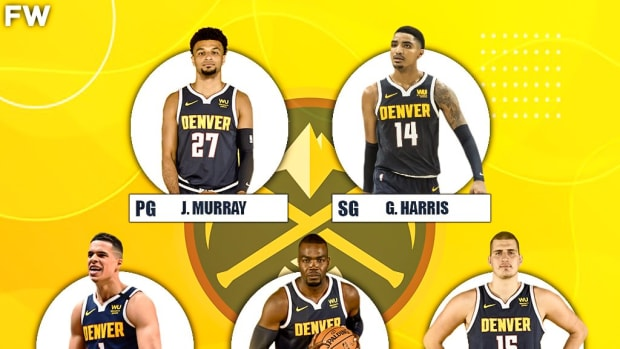 The 2020-21 Projected Starting Lineup For The Denver Nuggets