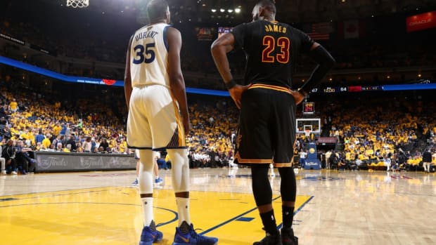 Draymond Green Says KD Changed When LeBron Was Still Considered Best NBA Player After 2017 Finals- That's When I Kind Of Felt Like It Took A Turn, And Kevin Just Wasn't As Happy.