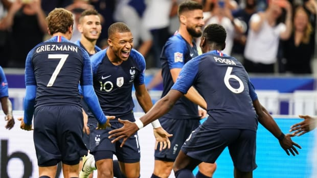 Mbappe Griezmann Pogba France