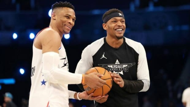 """Bradley Beal After Playing With Russell Westbrook For The First Time: """"Defenses Have To Respect It. He's Going To Get Two Feet In The Paint And The Rest Of Us Have To Do Our Jobs, Get Open And Knock Them Down."""""""