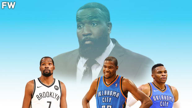 """Kendrick Perkins Explains Why Kevin Durant Is Angry At Him: """"Just Because You're The Greatest Player Doesn't Mean That You're The Best Player They Ever Put On The Thunder Uniform."""""""