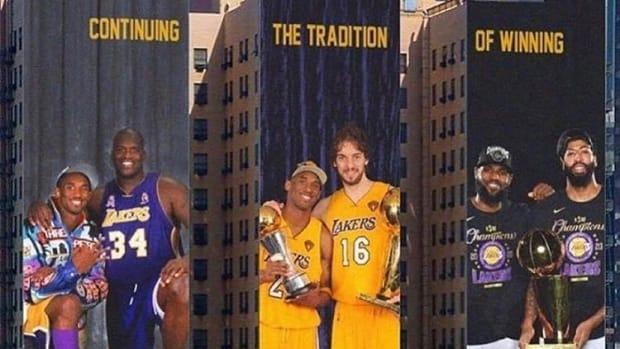 The Murals Los Angeles Need: Kobe And Shaq, Kobe And Pau, LeBron James And Anthony Davis