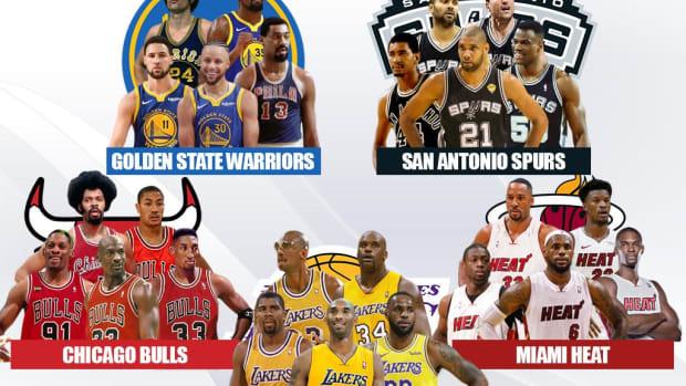 5 Legendary Superteams That No One Would Beat: Lakers, Bulls, Heat, Warriors, Spurs