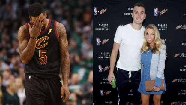 """JR Smith Fires Back At Sam Dekker's Wife, Olivia: """"Would You Like To Explain Why Your Husband Can't Say NI&&@R Or Should I? I Don't Mind At All."""""""