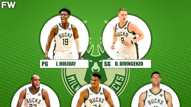 The 2020-21 Projected Starting Lineup For The Milwaukee Bucks