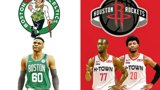 The Blockbuster Trade Idea: Russell Westbrook To Boston For Kemba Walker And Marcus Smart (1)