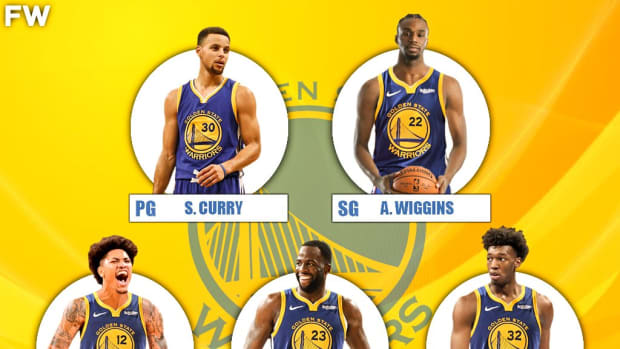 The 2020-21 Projected Starting Lineup For The Golden State Warriors