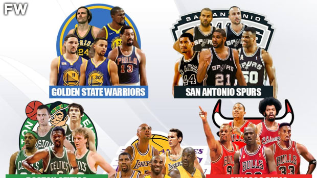 Ranking The Greatest And Most Successful NBA Franchises Of All Time