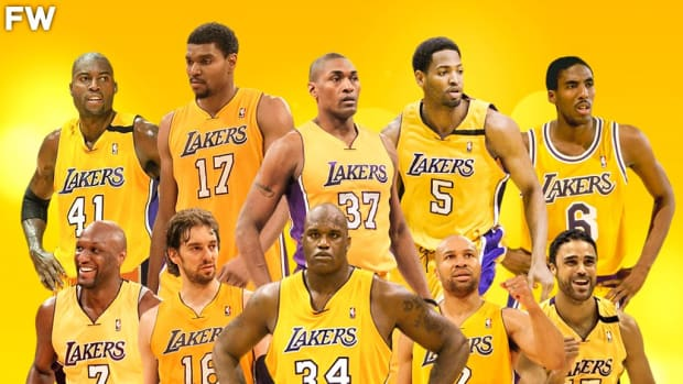 Ranking The 10 Greatest Teammates That Kobe Bryant Ever Had In His Career