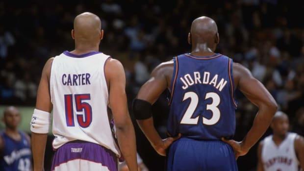 Michael Jordan vs. Vince Carter