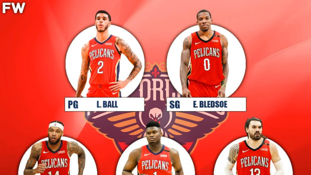 The 2020-21 Projected Starting Lineup For The New Orleans Pelicans