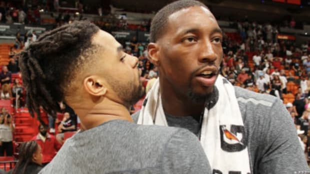 """D'Angelo Russell Says He'd Pick Bam Adebayo To Build A Team Around For The Next 10 Years: """"When You Have Somebody That Big That's Versatile On The Defensive End And What He Brings On The Offensive End.. It's Just The Way The League Is Going."""""""