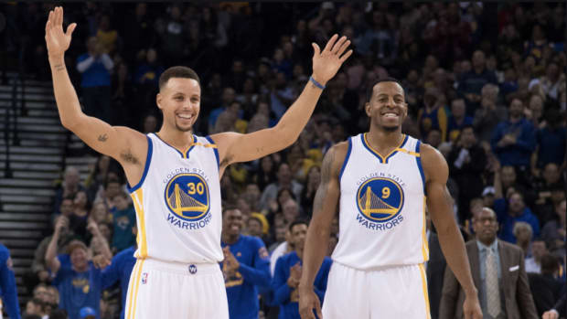 """Andre Iguodala On Steph Curry's Impact On The Game: """"You Were Looked At As Soft If You Had Fun... But When Steph Curry Came Through, He Started Laughing, He Started Shimmying, And He's Shooting Half Court"""""""