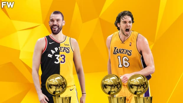 """Marc Gasol On His Championship And Pau Gasol: """"He Keeps Saying That He Has Two Rings, But I Celebrated Mine Like It's Five."""""""